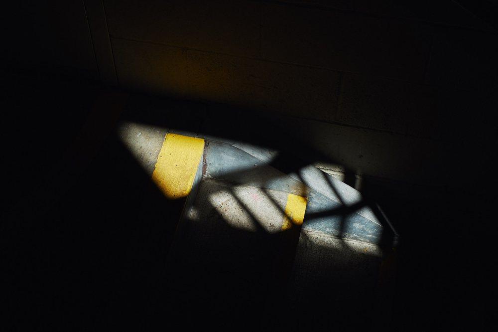steps in shadow